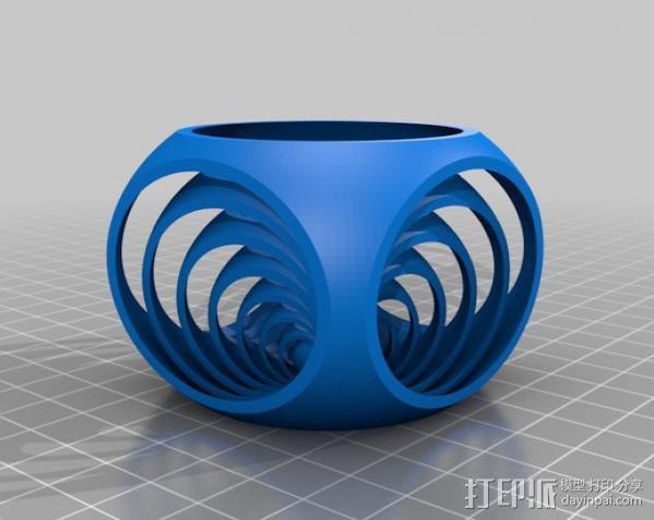 中国球 3D模型  图2