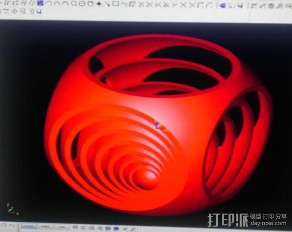 中国球 3D模型  图4