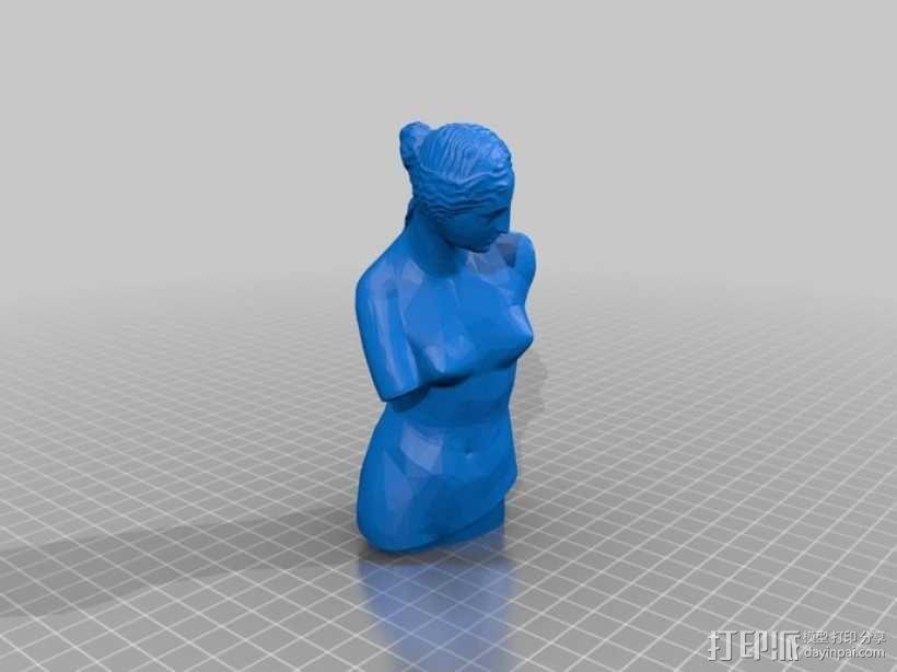 维纳斯 3D模型  图1
