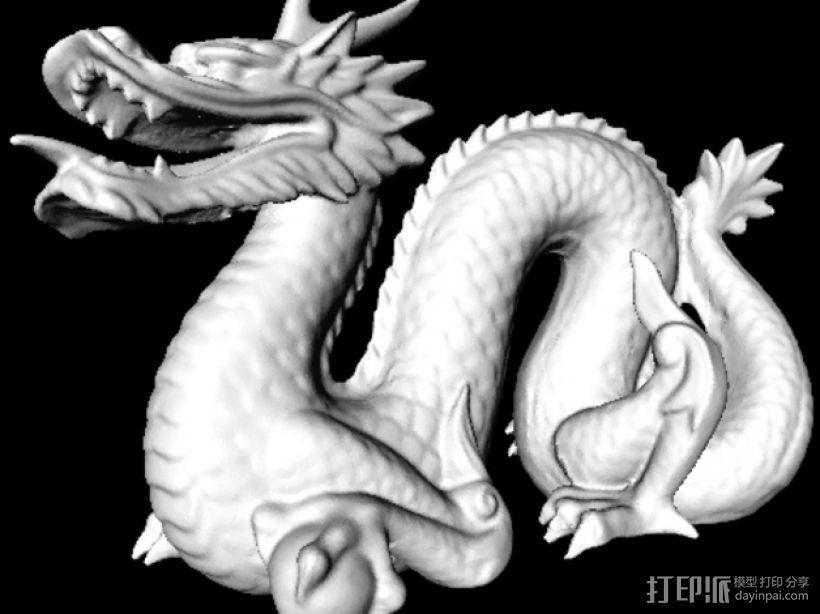 斯坦福龙模型 3D模型  图1