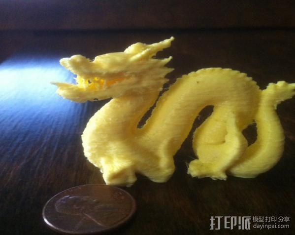 斯坦福龙模型 3D模型  图2