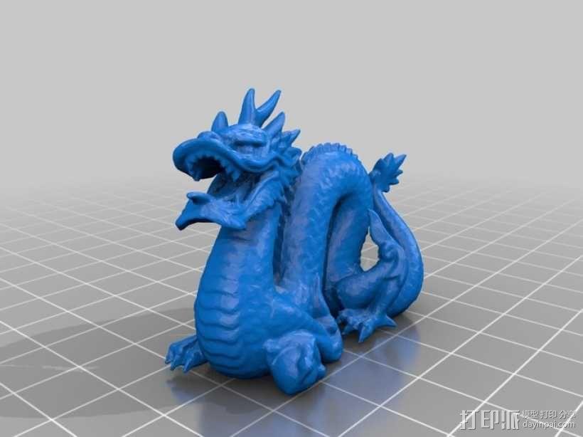 斯坦福龙模型 3D模型  图3