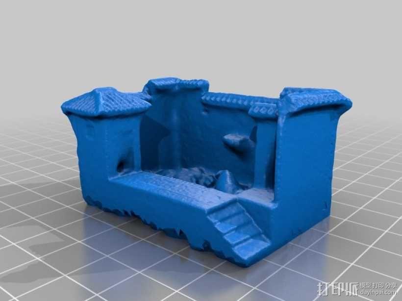 猪舍和茅房 建筑模型 3D模型  图1