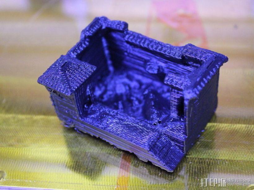 猪舍和茅房 建筑模型 3D模型  图3
