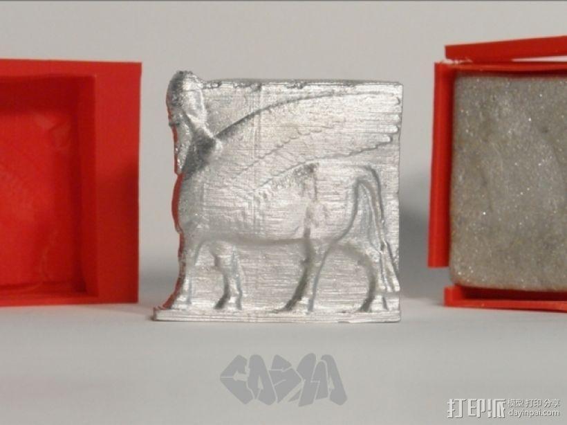 骷髅头钢铁战士 3D模型  图8