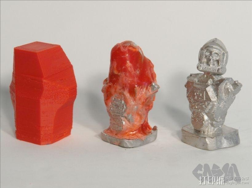骷髅头钢铁战士 3D模型  图6