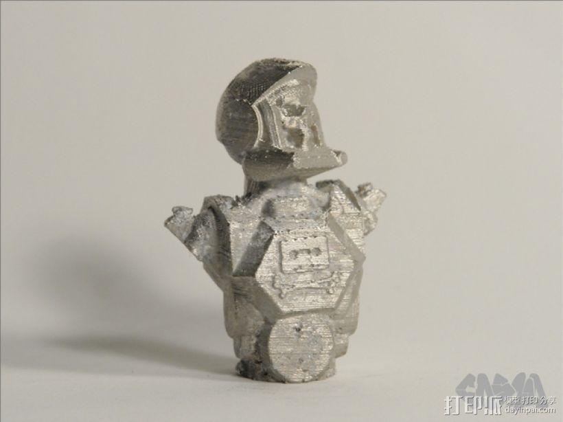 骷髅头钢铁战士 3D模型  图9