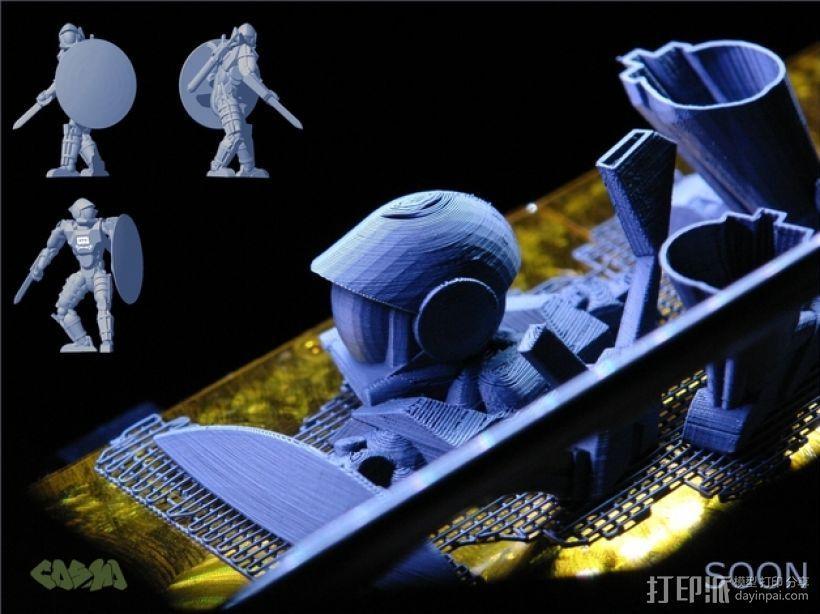 骷髅头钢铁战士 3D模型  图16
