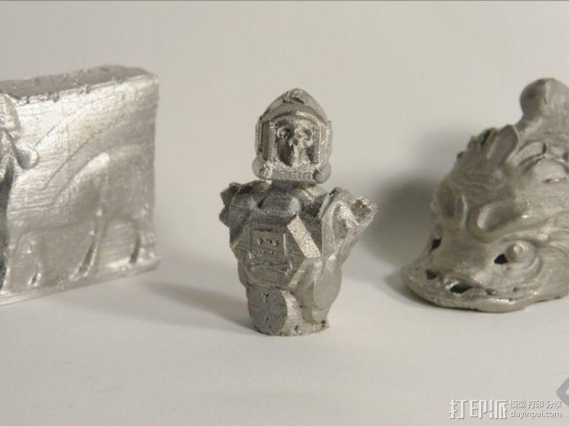 骷髅头钢铁战士 3D模型  图15