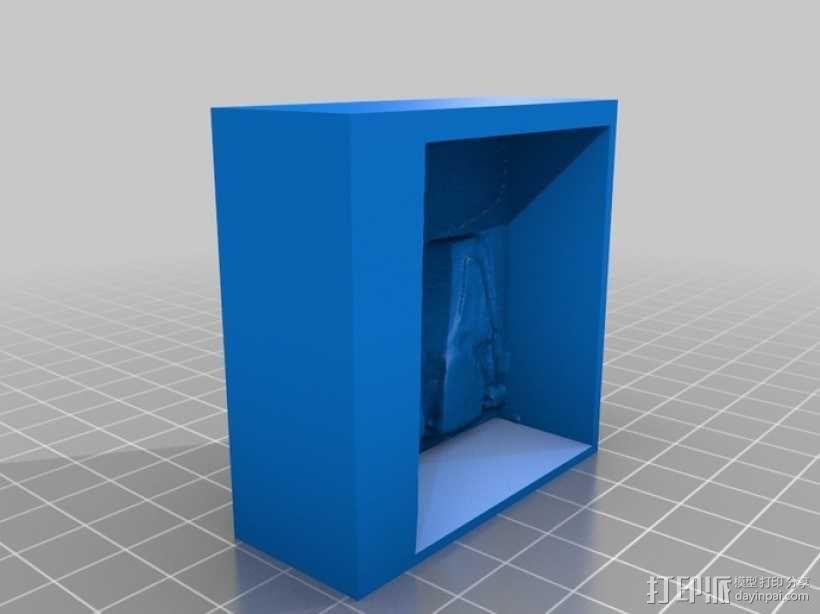 骷髅头钢铁战士 3D模型  图18