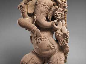 象头神格涅沙 3D模型