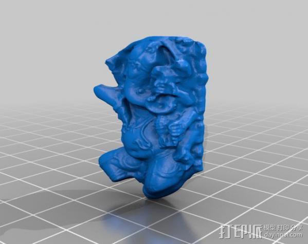 象头神格涅沙 3D模型  图3