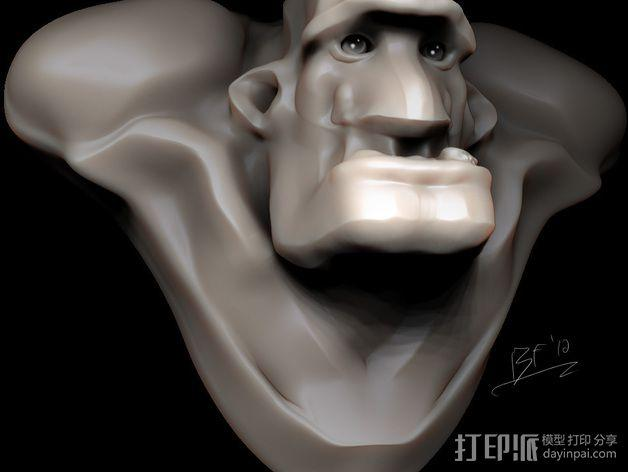 Mongo 3D模型  图1