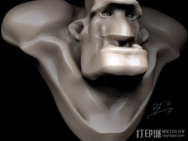 Mongo 3D模型  图2