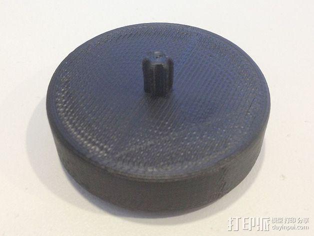 水瓶盖相机架 3D模型  图2