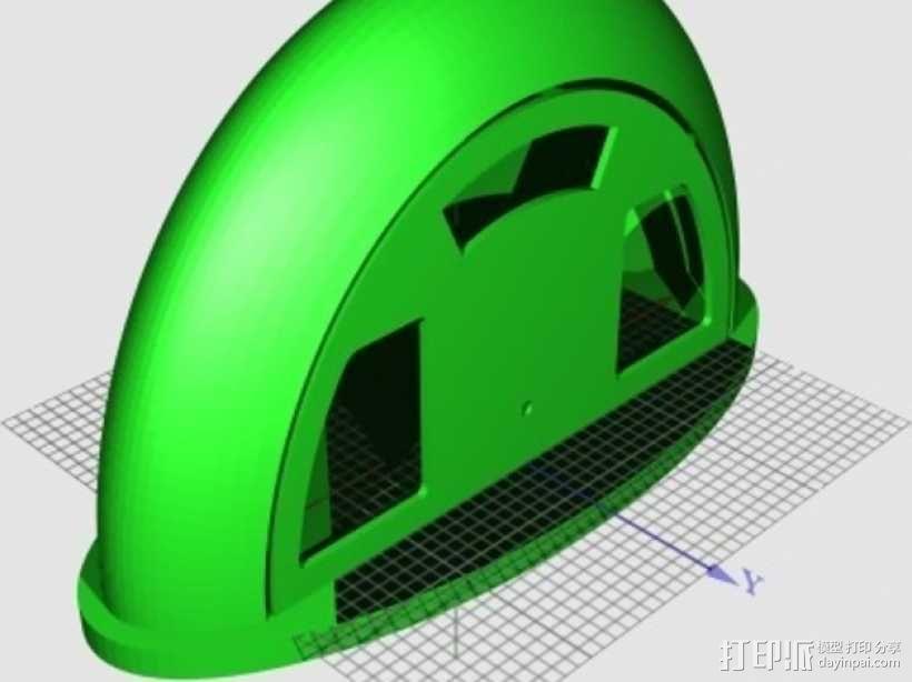 收音机外壳  3D模型  图1