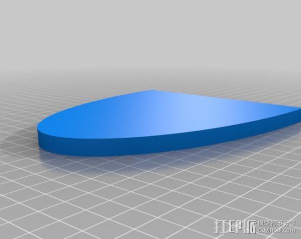 收音机外壳  3D模型  图3