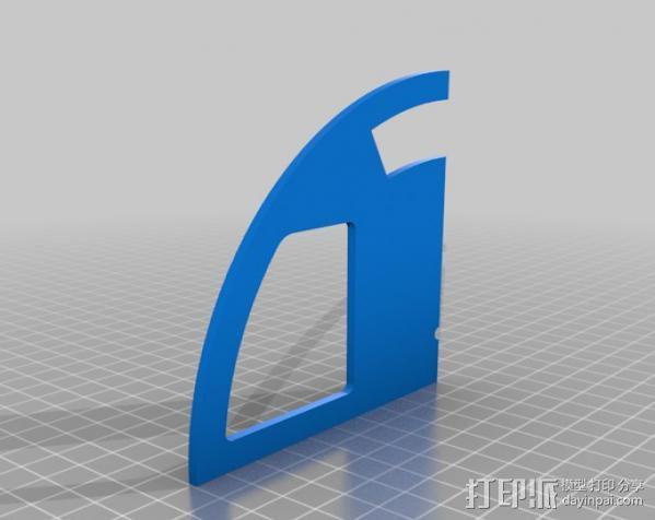 收音机外壳  3D模型  图5