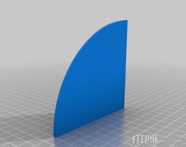 收音机外壳  3D模型  图4