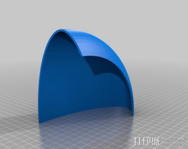 收音机外壳  3D模型  图8
