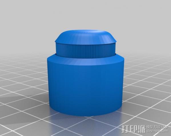 收音机外壳  3D模型  图7