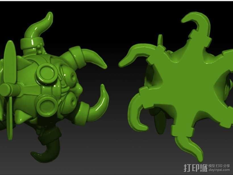 宠物怪兽 Pipsquid 3D模型  图5