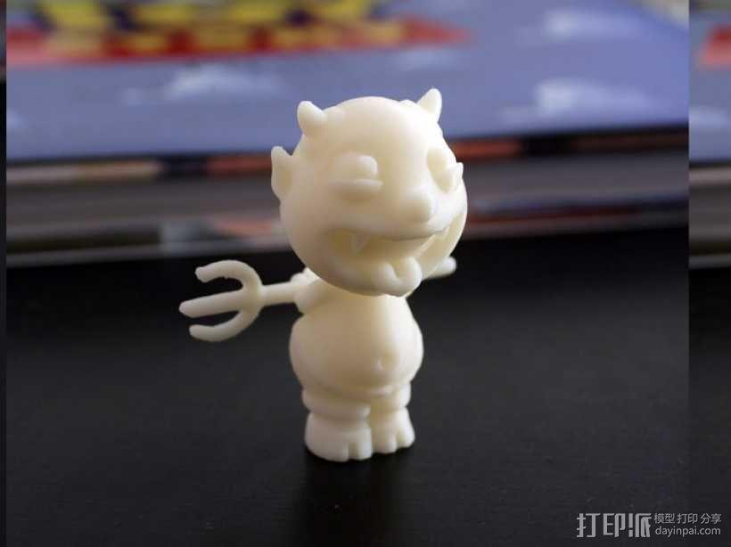 宠物怪兽 Impy 3D模型  图2