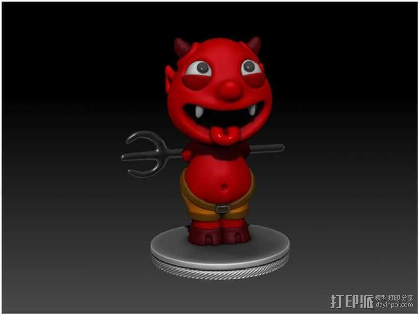 宠物怪兽 Impy 3D模型  图3