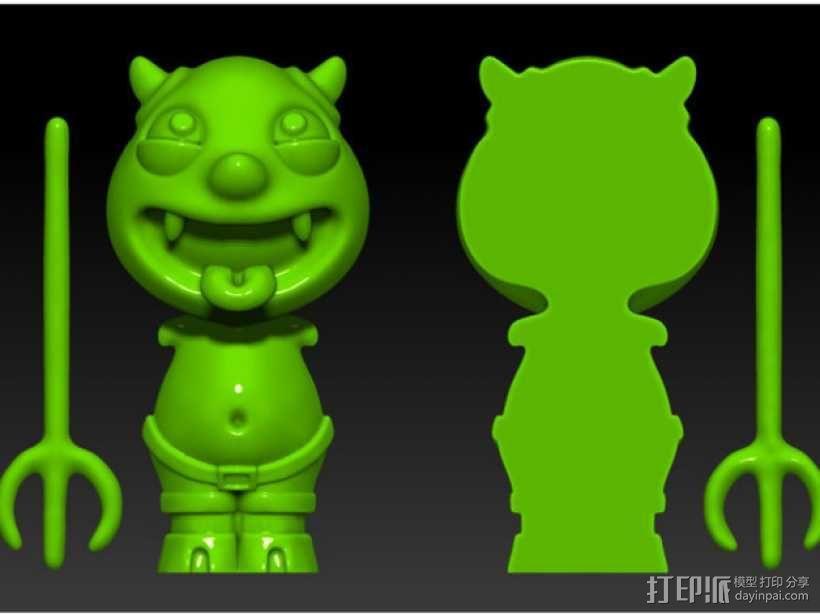 宠物怪兽 Impy 3D模型  图6