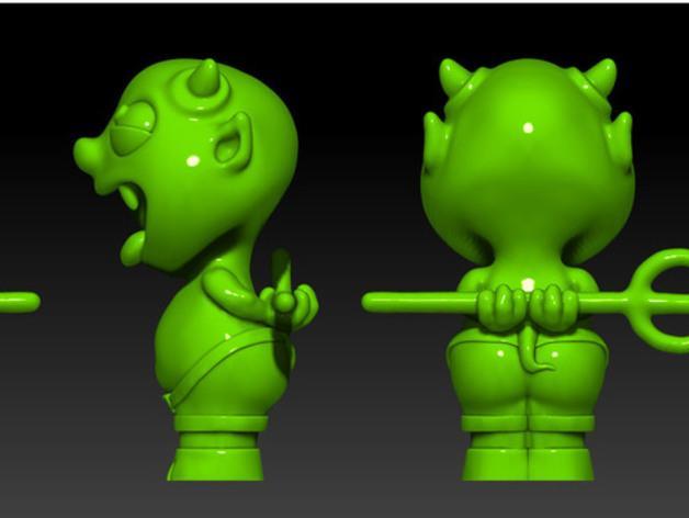 宠物怪兽 Impy 3D模型  图5