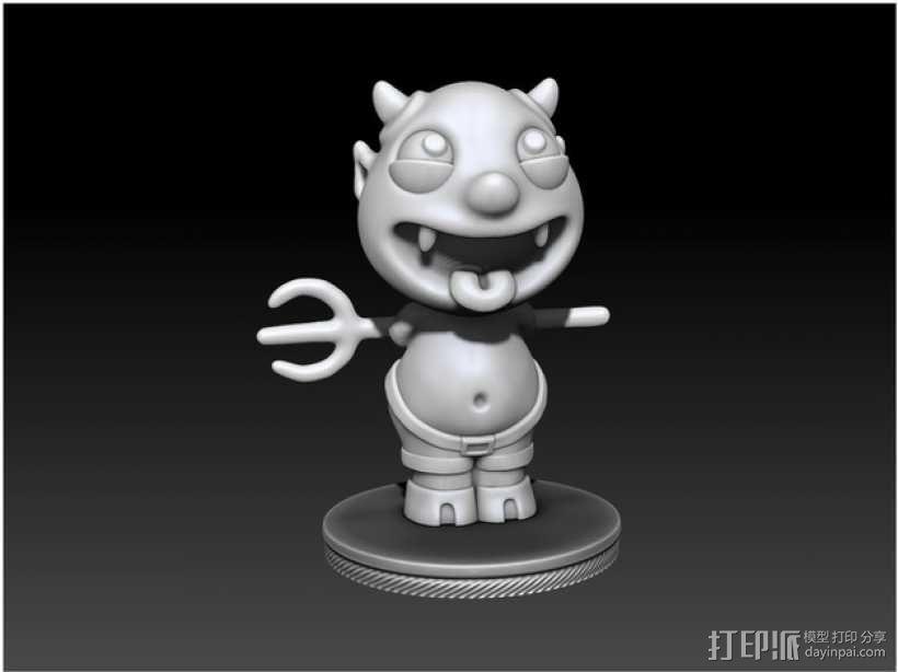 宠物怪兽 Impy 3D模型  图4