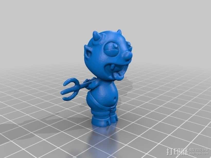 宠物怪兽 Impy 3D模型  图7