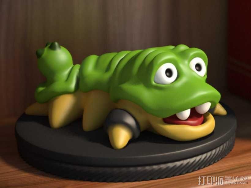 口袋妖怪 Munchy模型 3D模型  图1