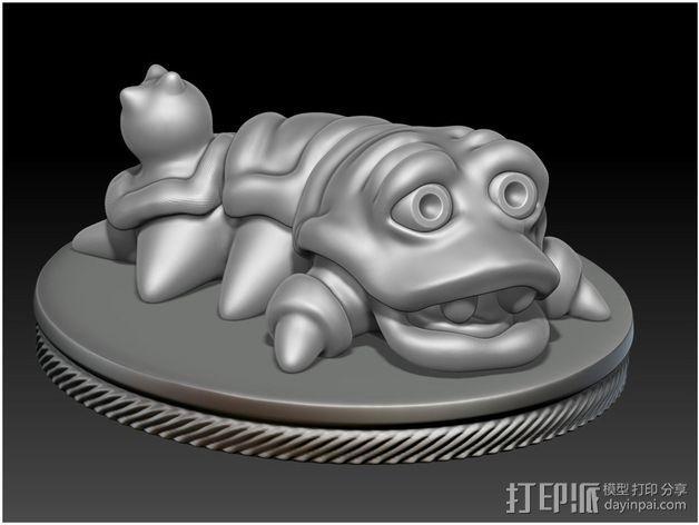 口袋妖怪 Munchy模型 3D模型  图3