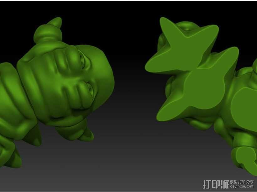 口袋妖怪 Munchy模型 3D模型  图5