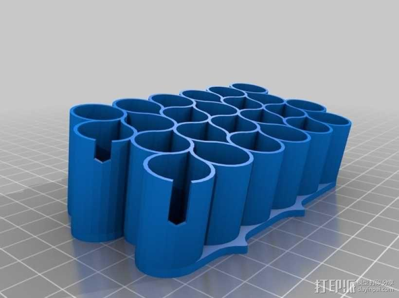 霹雳马马克笔笔架 3D模型  图1