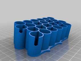 霹雳马马克笔笔架 3D模型