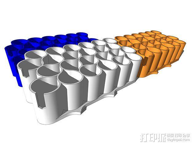 霹雳马马克笔笔架 3D模型  图4