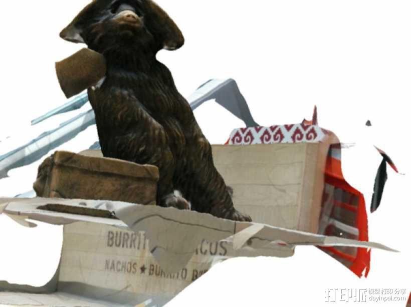 帕丁顿熊模型 3D模型  图1