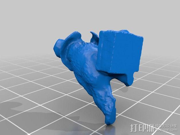 帕丁顿熊模型 3D模型  图2