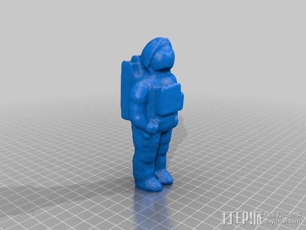 宇航员模型 3D模型  图2
