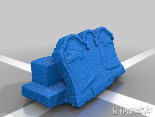 Hout Parents的墓碑模型 3D模型  图2