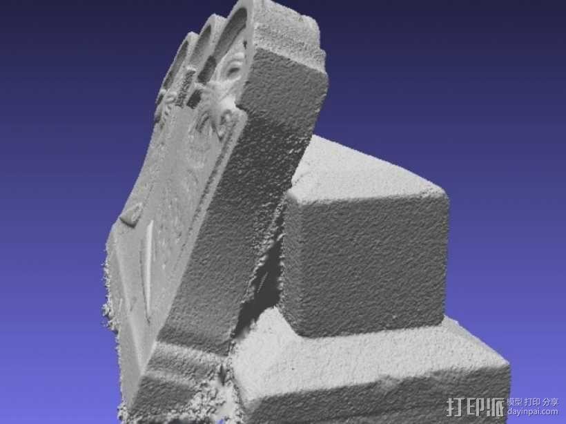 Hout Parents的墓碑模型 3D模型  图6