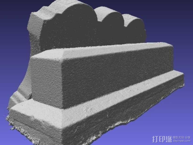 Hout Parents的墓碑模型 3D模型  图7