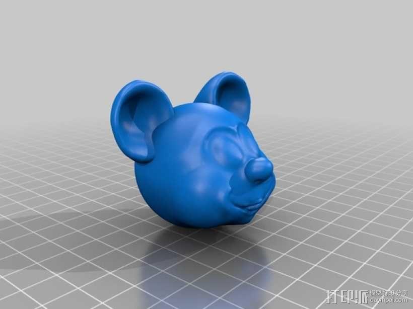 米奇头像模型 3D模型  图2