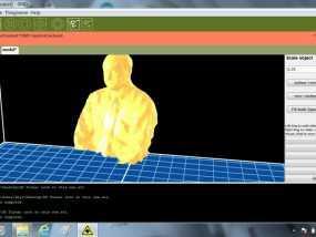 Turner博士半身像雕塑 3D模型