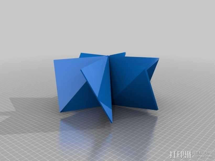 几何形螺旋浆 推进器 3D模型  图2