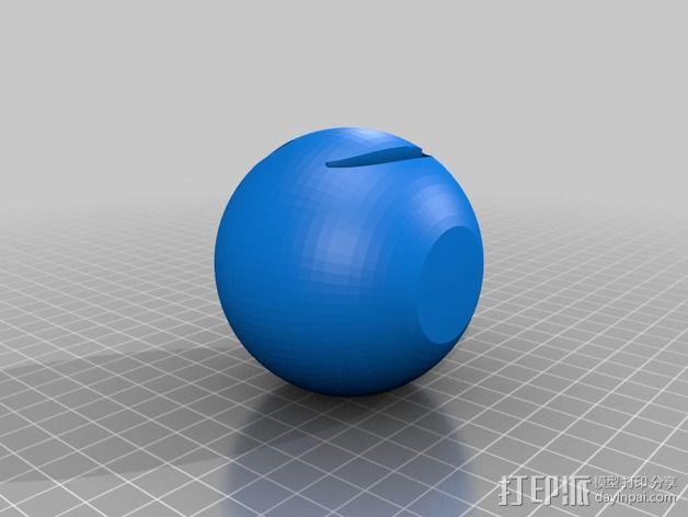 笑脸 微笑符 3D模型  图1