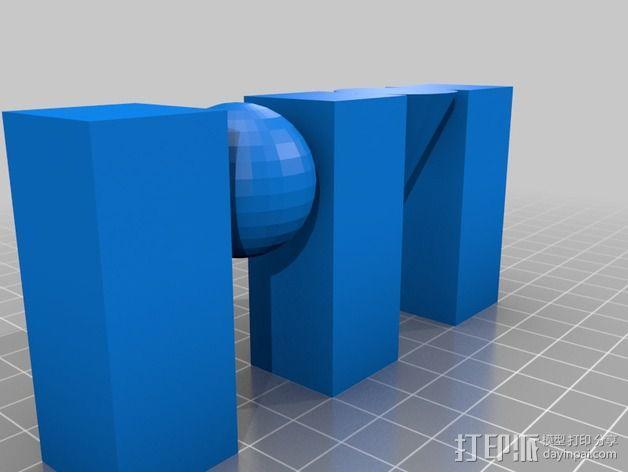 Roth Mobot标志 3D模型  图2