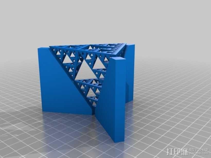谢尔宾斯基三角模型 3D模型  图1